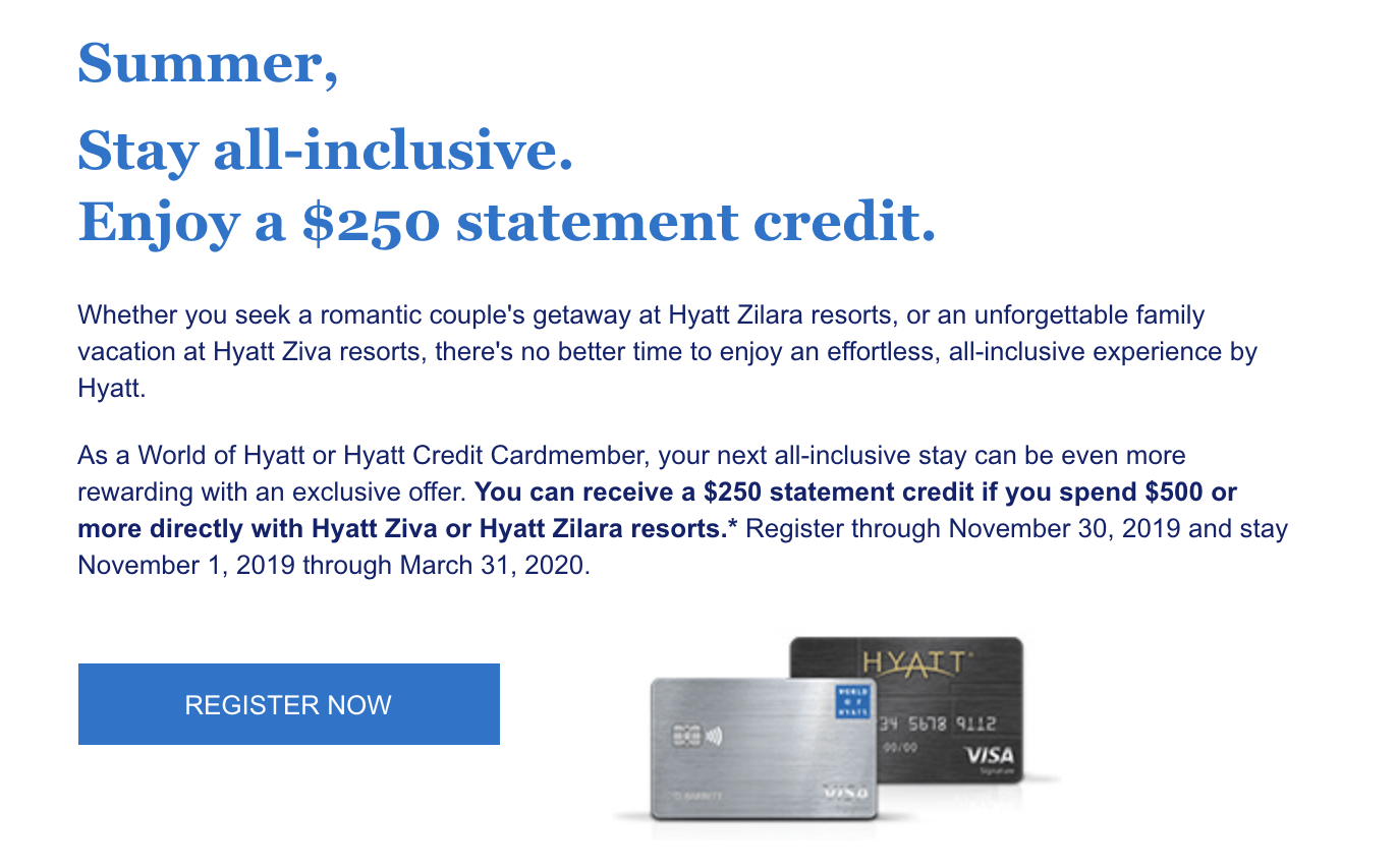 Save $250 on $500 at Hyatt all-Inclusive resorts with new