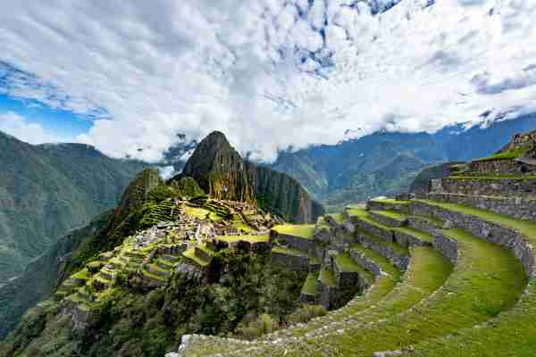 Machu Picchu In Peru (Photo by jimfeng/Getty Images)