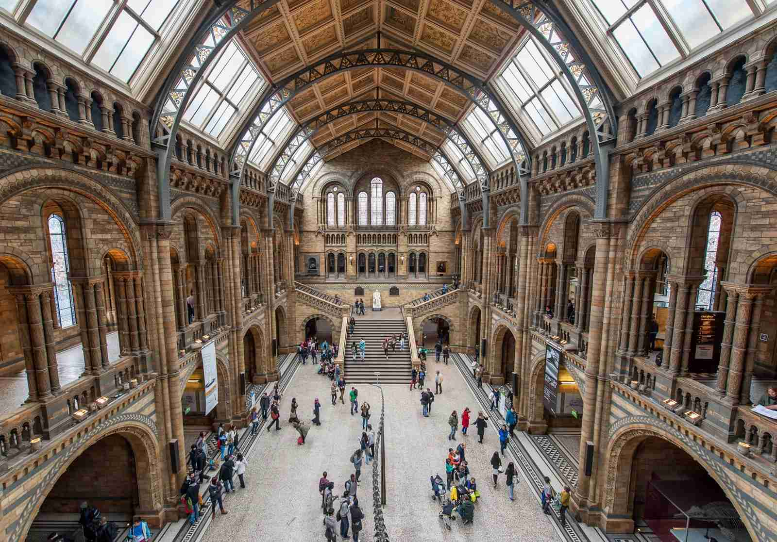 The Natural History Museum in London. (Photo by Tim Grist Photography/Getty Images)