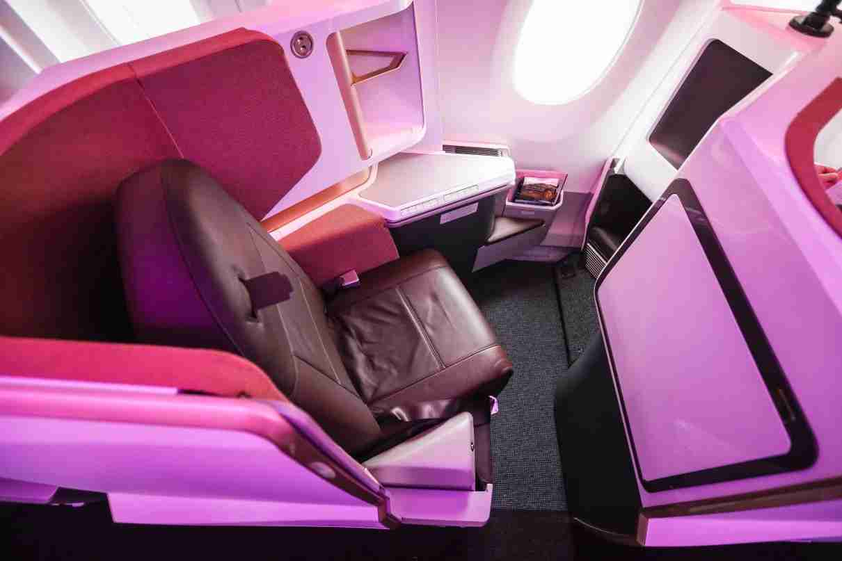 Virgin Atlantic Upper Class (Photo by Nicky Kelvin/The Points Guy)