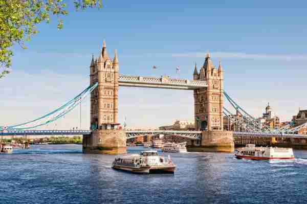 Tower Bridge. Photo by fazon1/Getty Images.