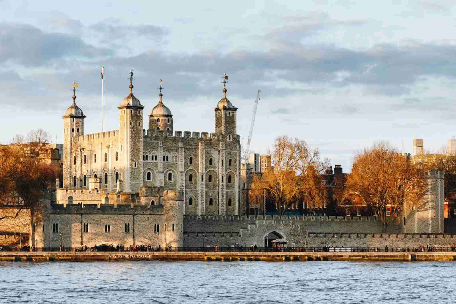 The Tower of London. (Photo by DaLiu/Getty Images