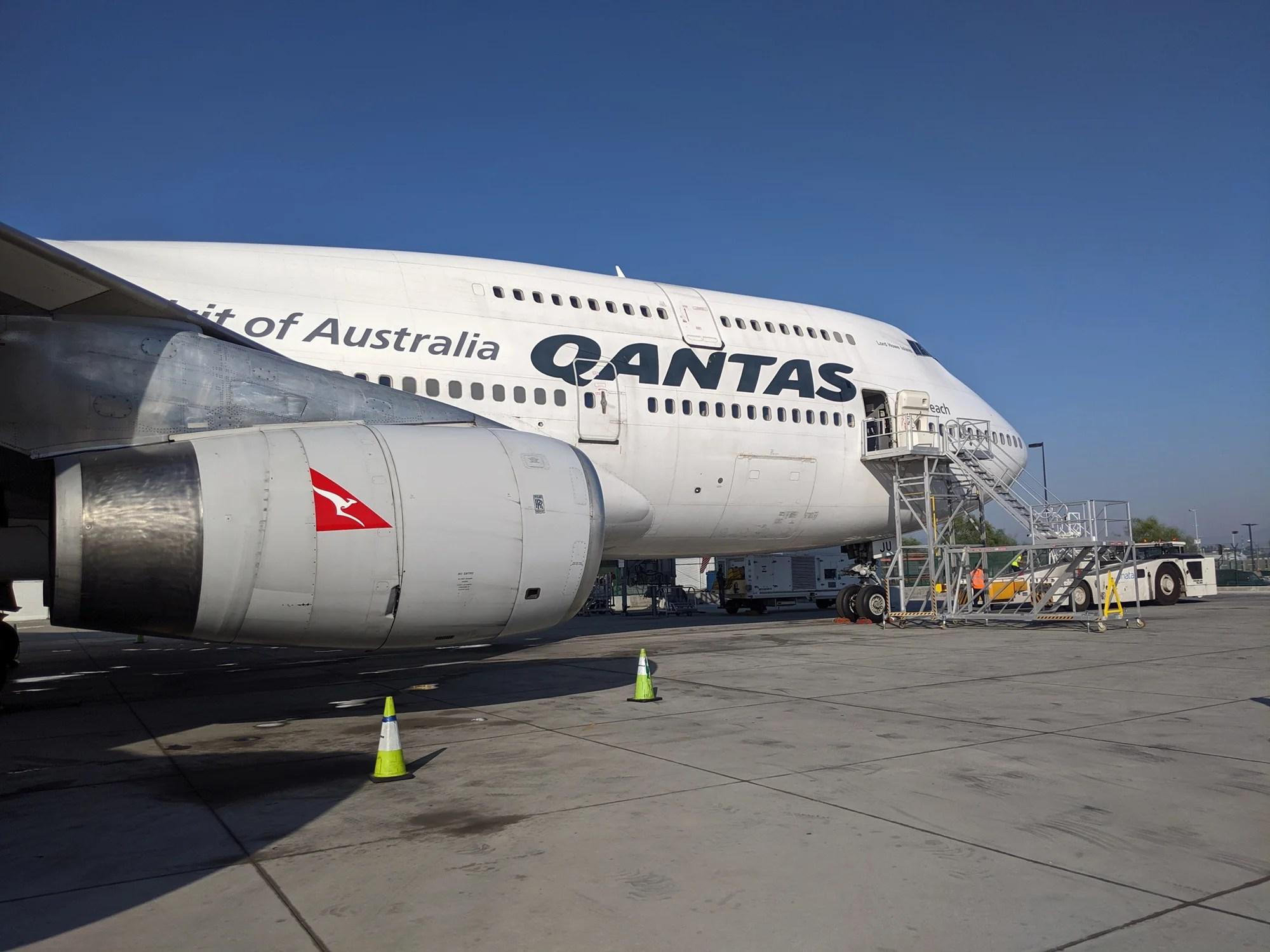 Qantas está retirando otros 747 y puedes unirte a su último vuelo thumbnail