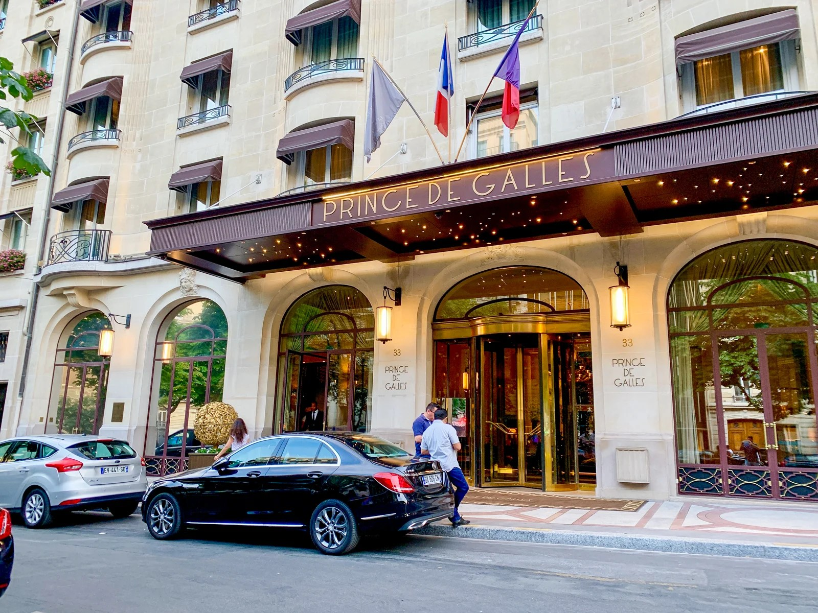 Art deco decadence: A review of Prince de Galles, a Luxury Collection Hotel in Paris