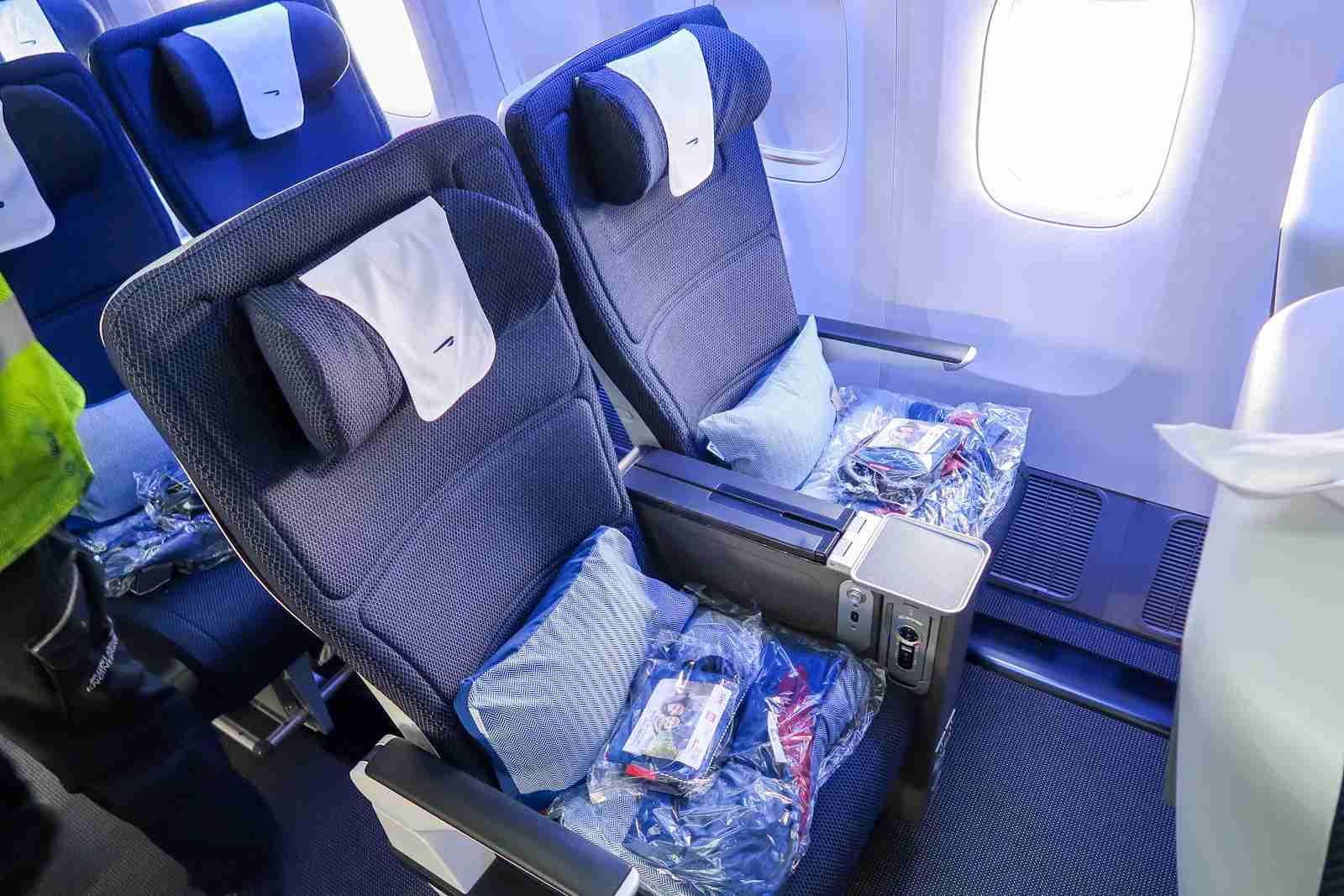 British Airways Premium Economy on the Boeing 777-200. (Photo by Ben Smithson/The Points Guy)