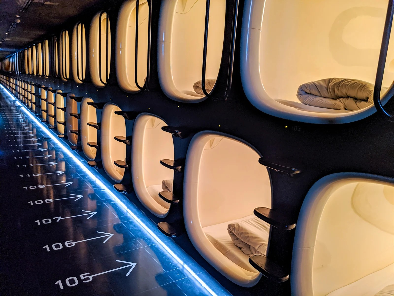 Now departing: Your dreams. A review of Nine Hours, a Tokyo airport capsule hotel
