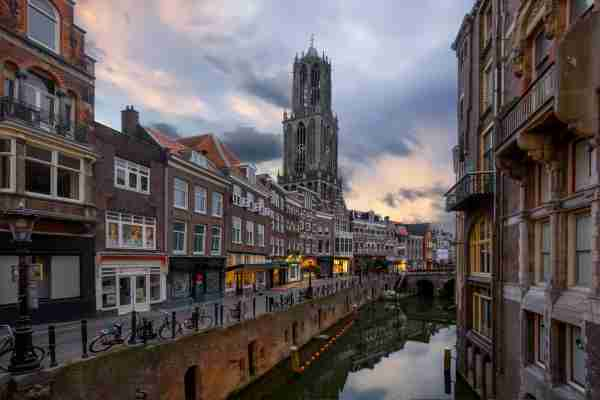 The Dom Tower of Utrecht. (Photo by Artie Photography Artie Ng/Getty Images)