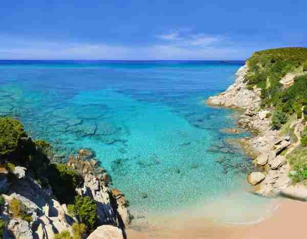 Cap Camarat, L´Escalet Beach near St-Tropez, Cote d'Azur, Southern France