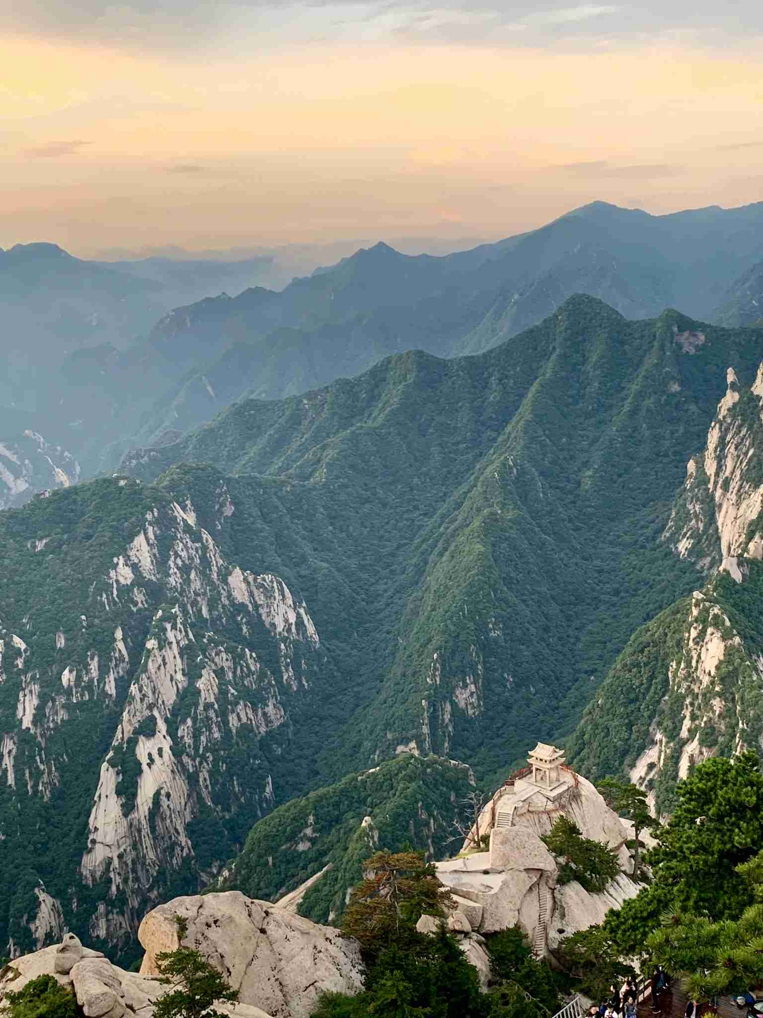 Mount Huashan. Photo by Ethan Steinberg/TPG