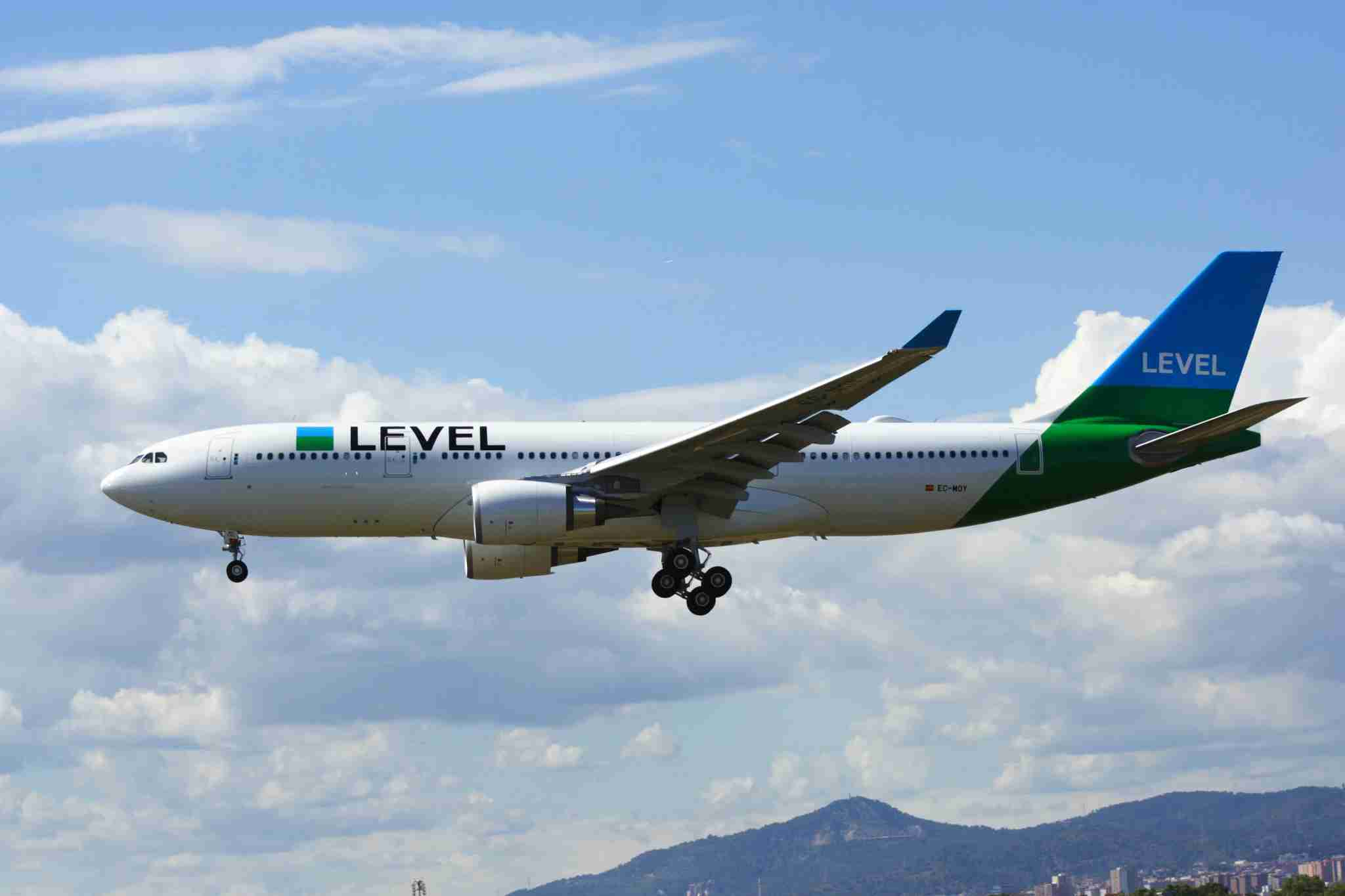 A LEVEL Airbus A330 (Photo by Daniel Luis Gómez Adenis/Wikimedia Commons)