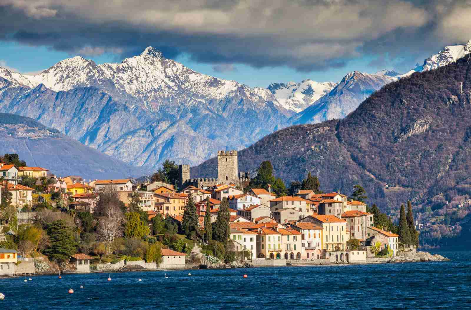 Lake Como. (Photo by Francesco Meroni/Getty Images)