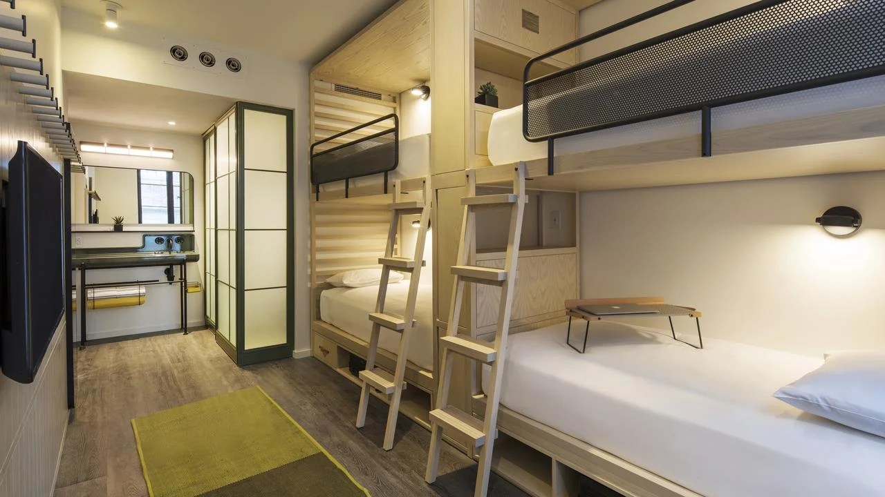 Why your next hotel stay might be in a bunk bed