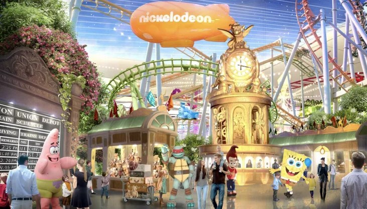 The largest indoor theme park in North American opens this week