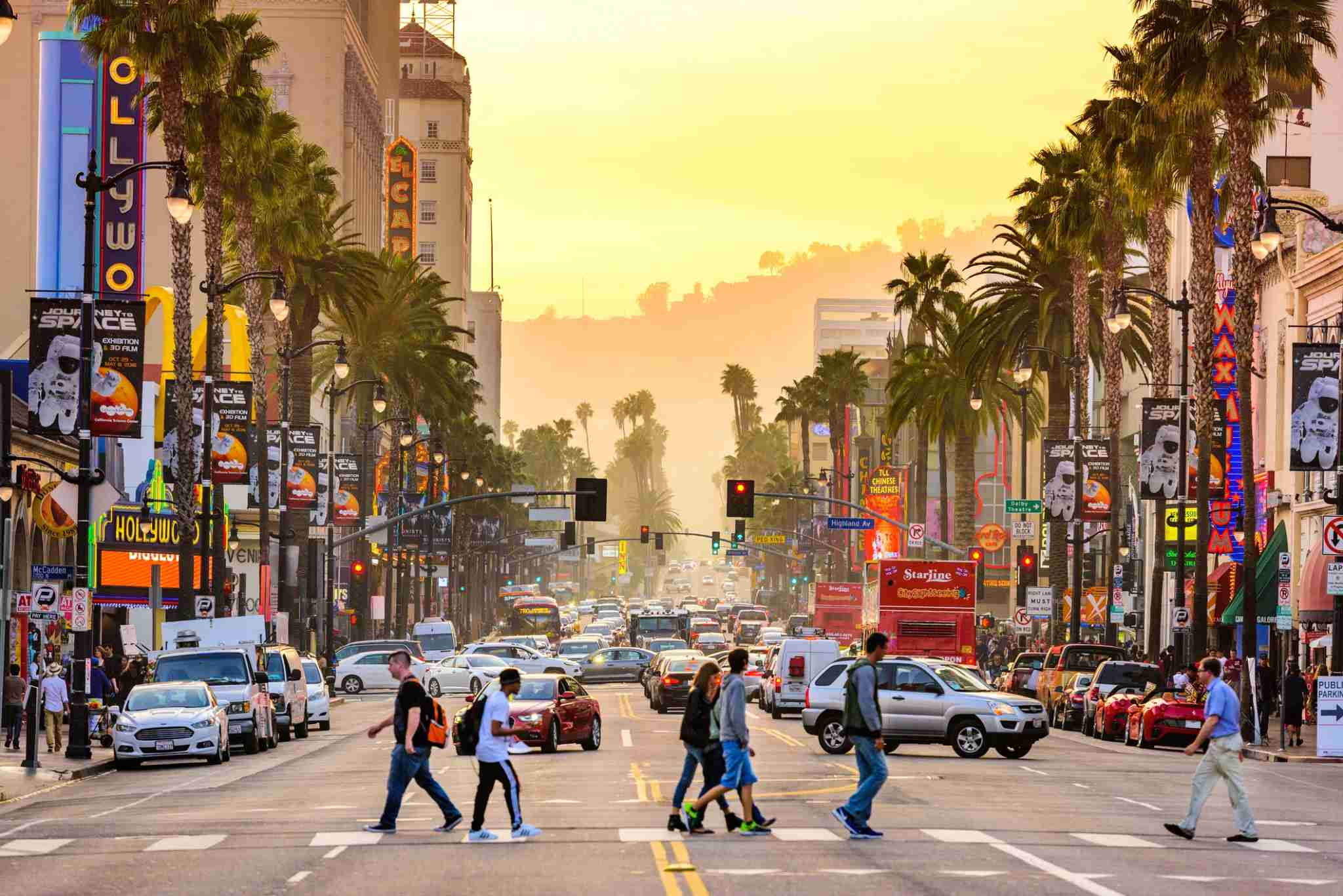The theaters, tourist attractions and people watching are endless along Hollywood Boulevard. (photo credit: SeanPavonePhoto)