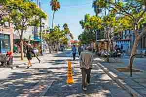 The Third Street Promenade in Santa Monica offers great shopping and people watching. (photo courtesy of jmoor17)