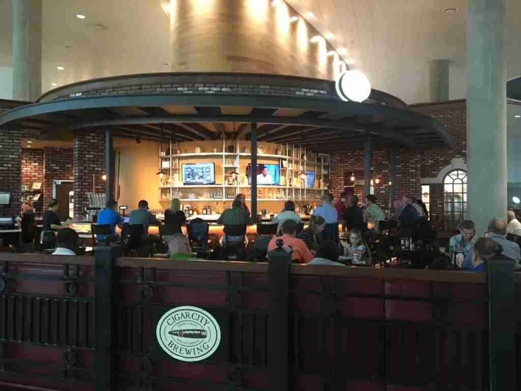 Cigar City Brewing on the airside at Tampa International Airport.