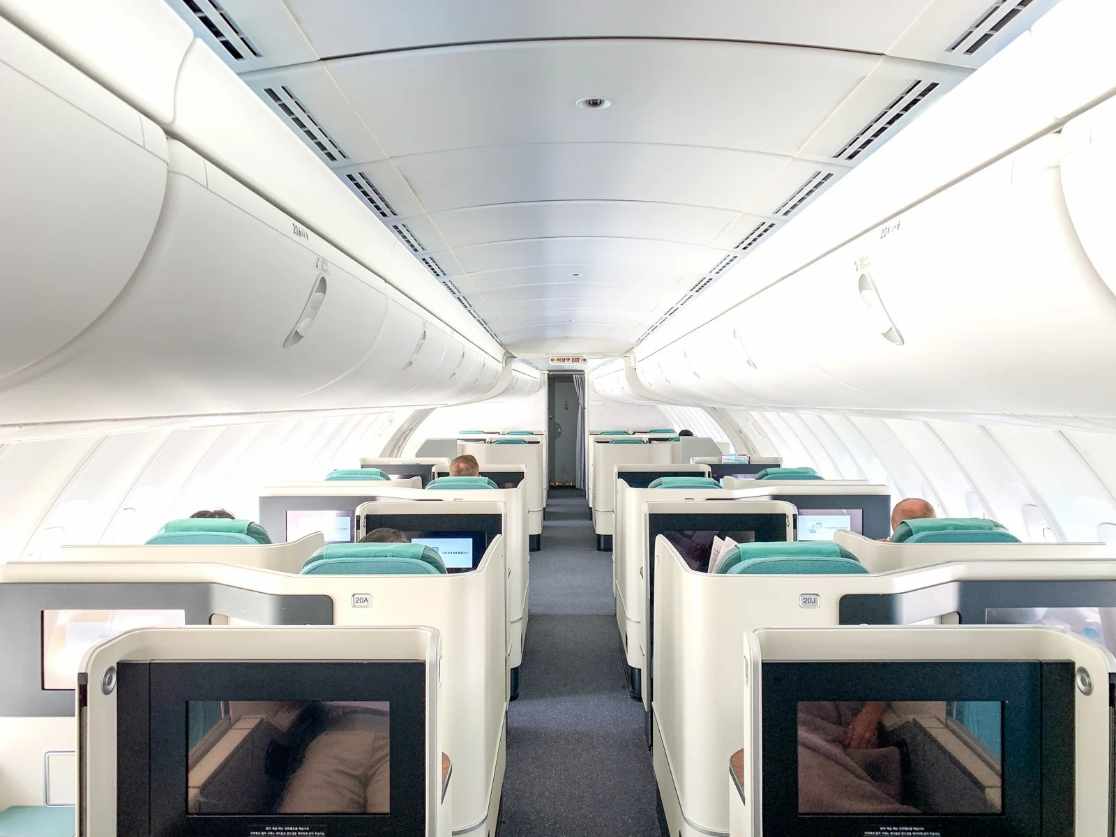 Flight of flavor: A review of Korean Air's business class on the 747-8 from Atlanta to Seoul