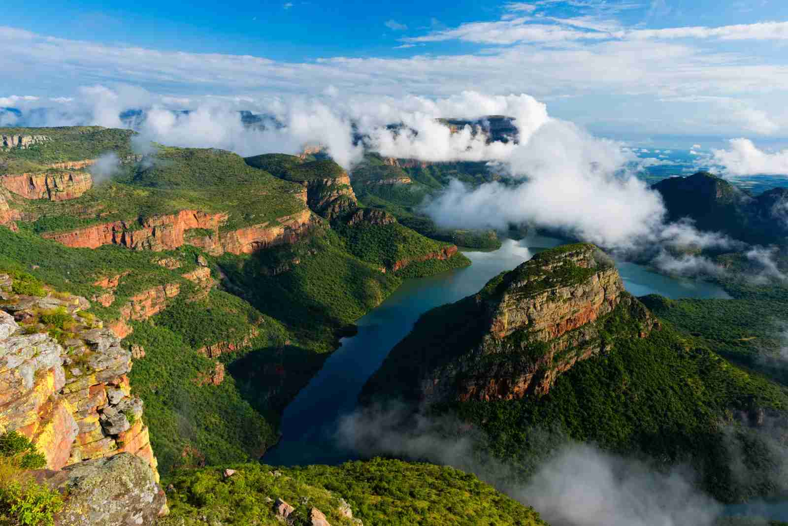 Blyde River Canyon in Mpumalanga, South Africa. (Photo by Hougaard Malan Photography/Getty Images)