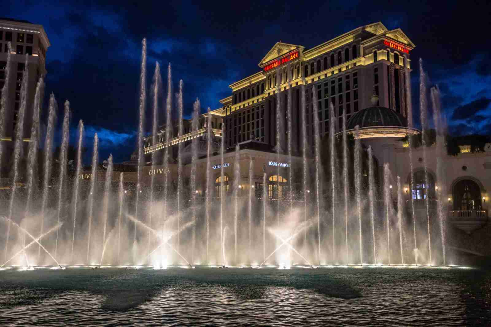 Caesars Palace. (Photo by Evan Semones - cosmophotograhy/Getty Images