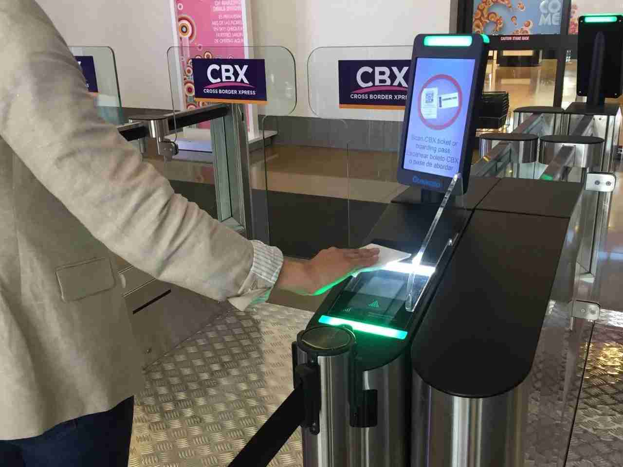 Scanning our tickets at the CBX E-gate makes entry even easier. (Photo courtesy of CBX)