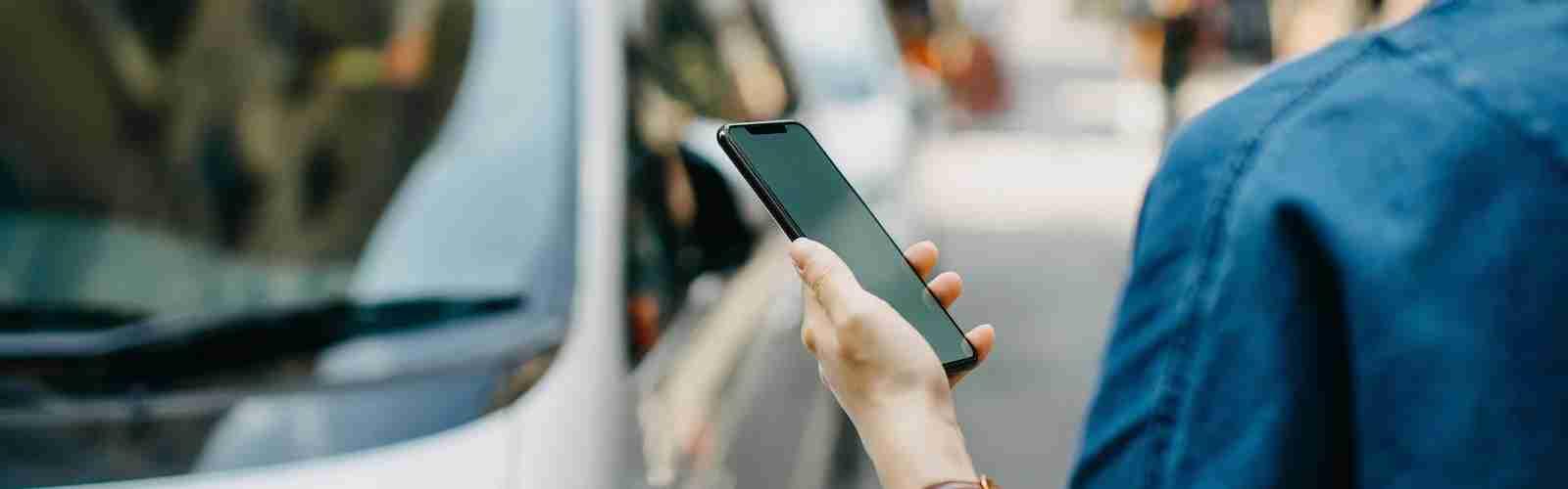 Lyft mobile ordering
