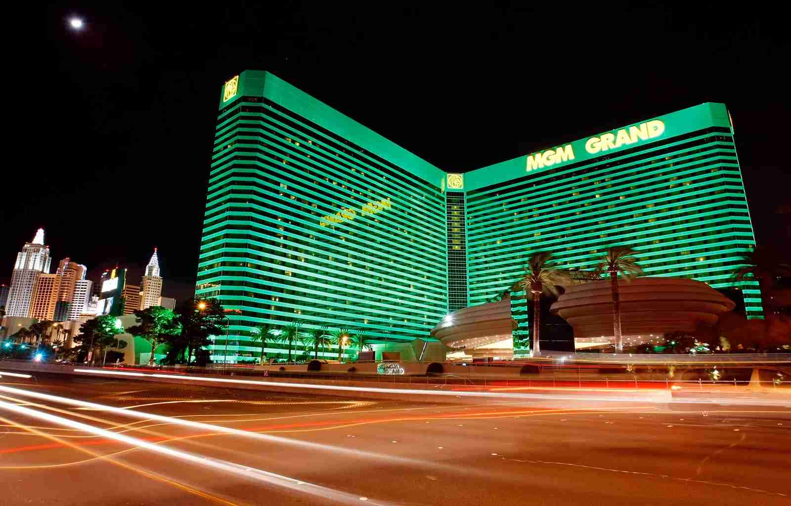 The MGM Grand Hotel (Photo by Ethan Miller/Getty Images)