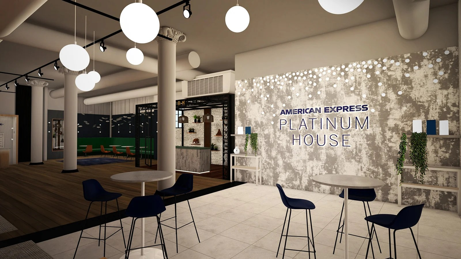 Amex is opening a holiday Platinum House in NYC with free drinks and food all weekend