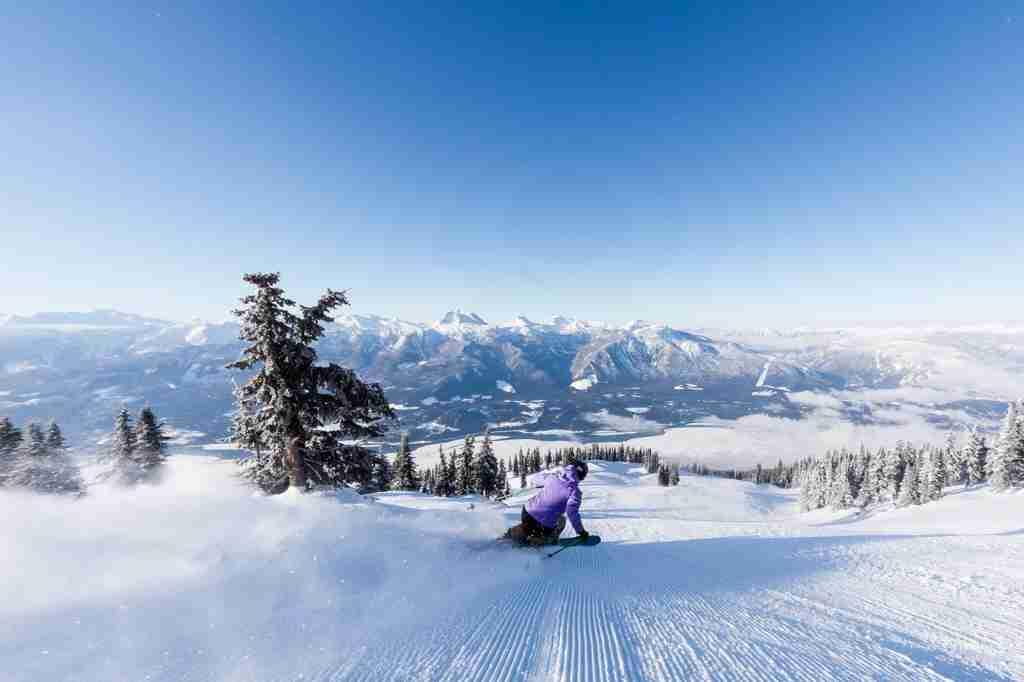 Skiing in Revelstoke (Photo courtesy Royce Sihlis)