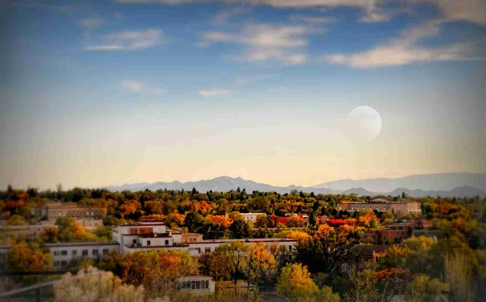 Santa Fe, New Mexico. (Photo by Diana Lee Angstadt/Getty Images)