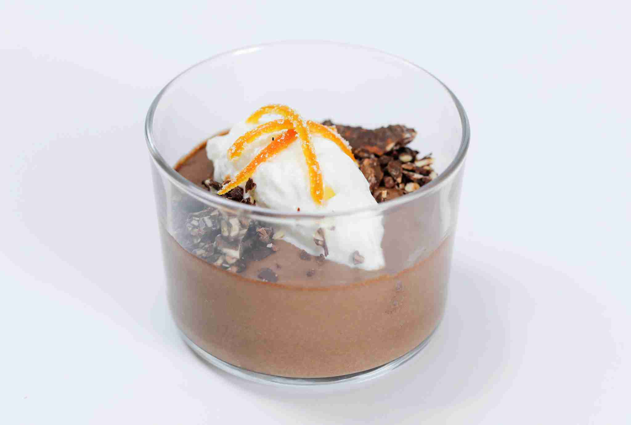 Chocolate budino. (Photo courtesy of American Airlines.)