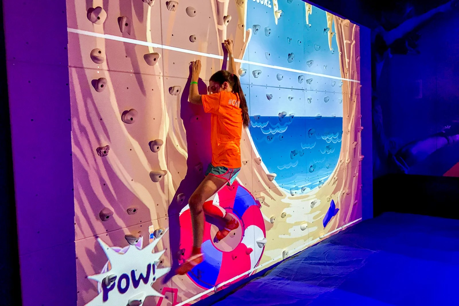 Kids will love this Sky Zone trampoline park on Carnival's latest ship