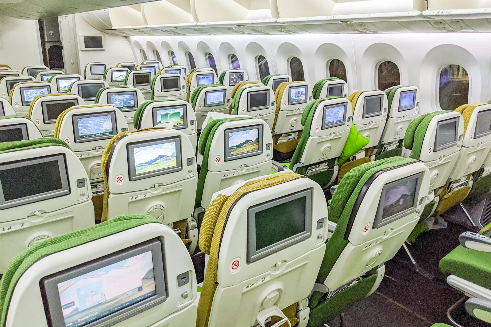 Serious shortcomings: A review of Ethiopian Airlines in economy on the 787-8 from Newark to Lome and back
