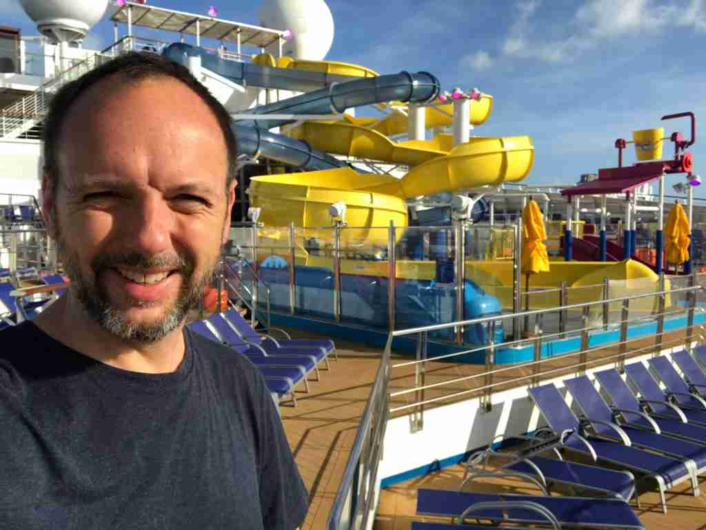 TPG cruise editor Gene Sloan reporting from Carnival Cruise Line