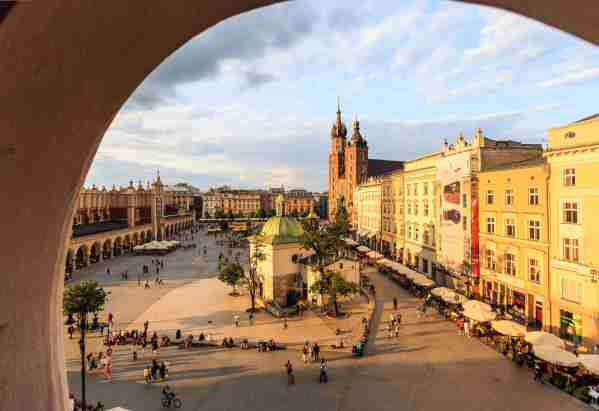 Krakow. (Photo by Maria Sward/Getty Images)