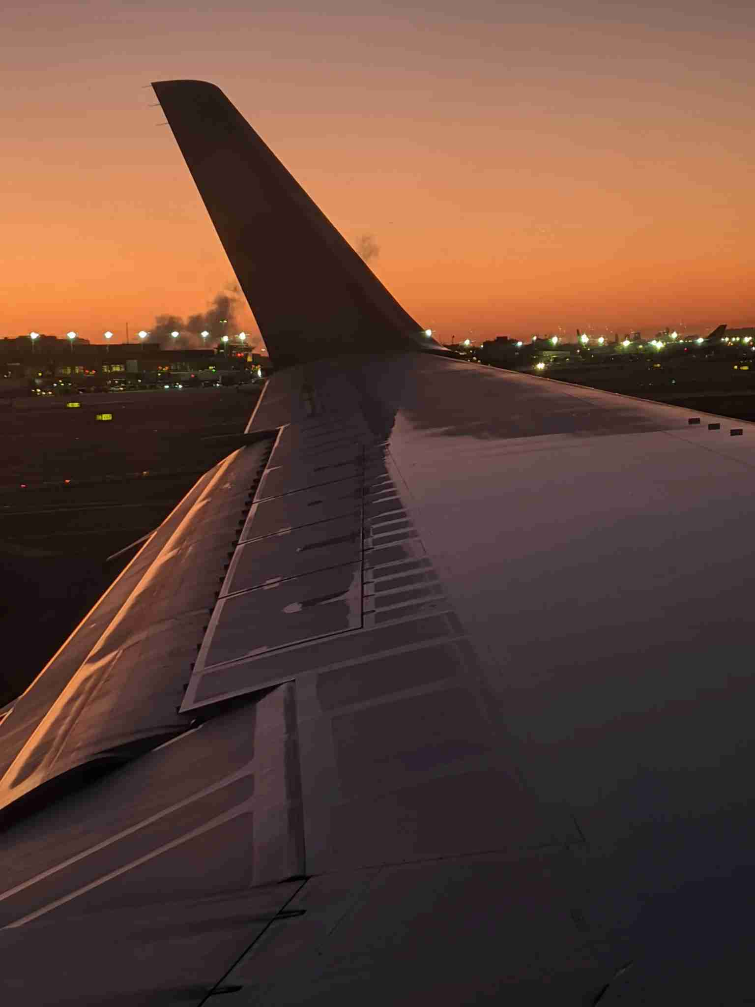The blended winglet on a Delta Boeing 767-300ER (Photo by Alberto Riva/The Points Guy)