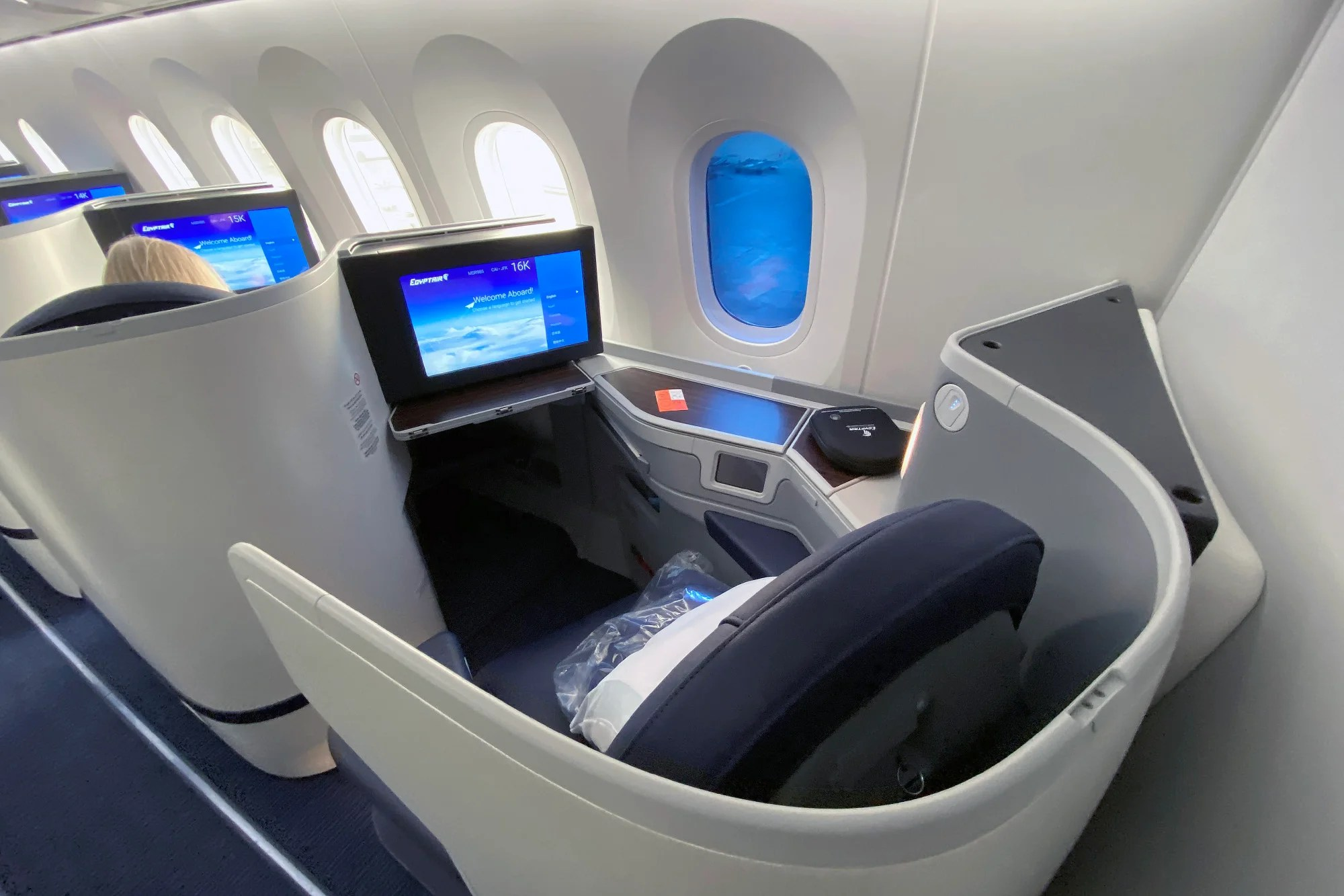 The potential is there: A review of EgyptAir's business class on the 787-9 from Cairo to New York