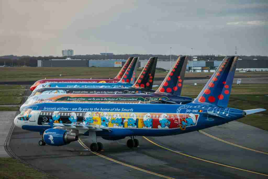(Photo courtesy of Brussels Airlines)