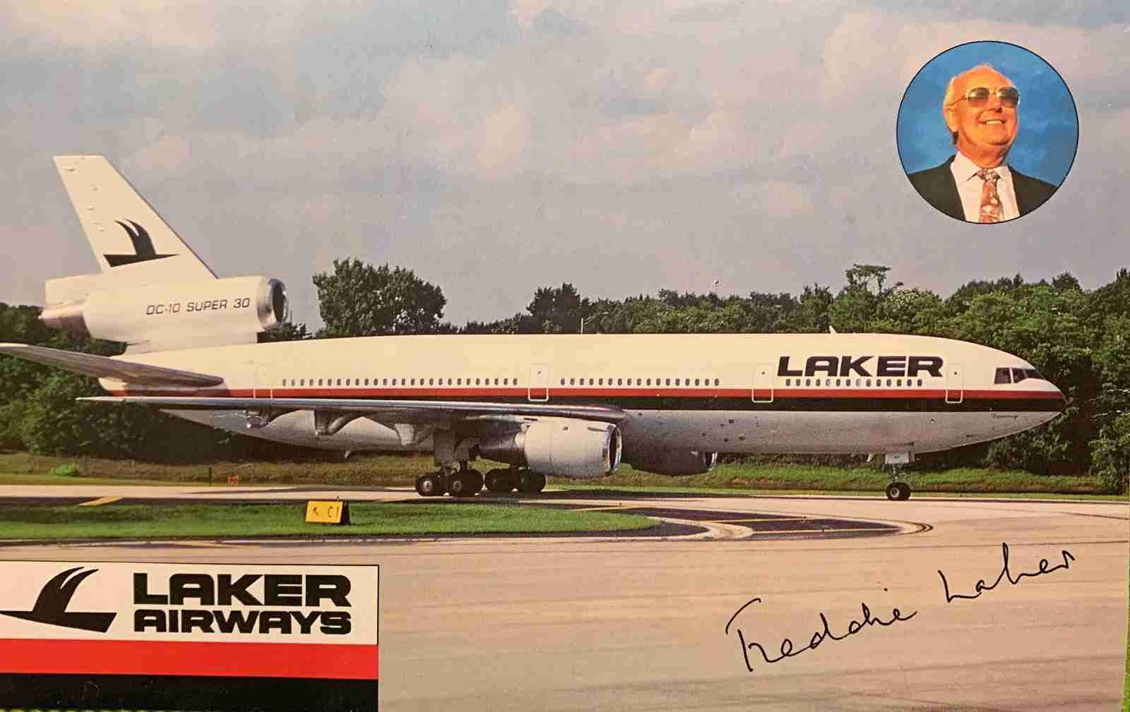 Postcard: The irrepressible Freddie Laker was an airline celebrity in the late '70s.