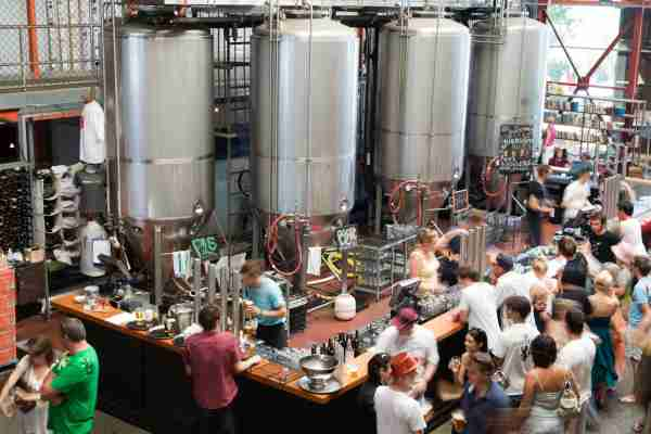 Little Creatures Brewery. (Photo by Orien Harvey/Getty Images)
