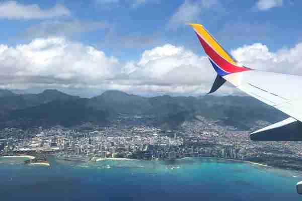 Oahu Waikiki from Air