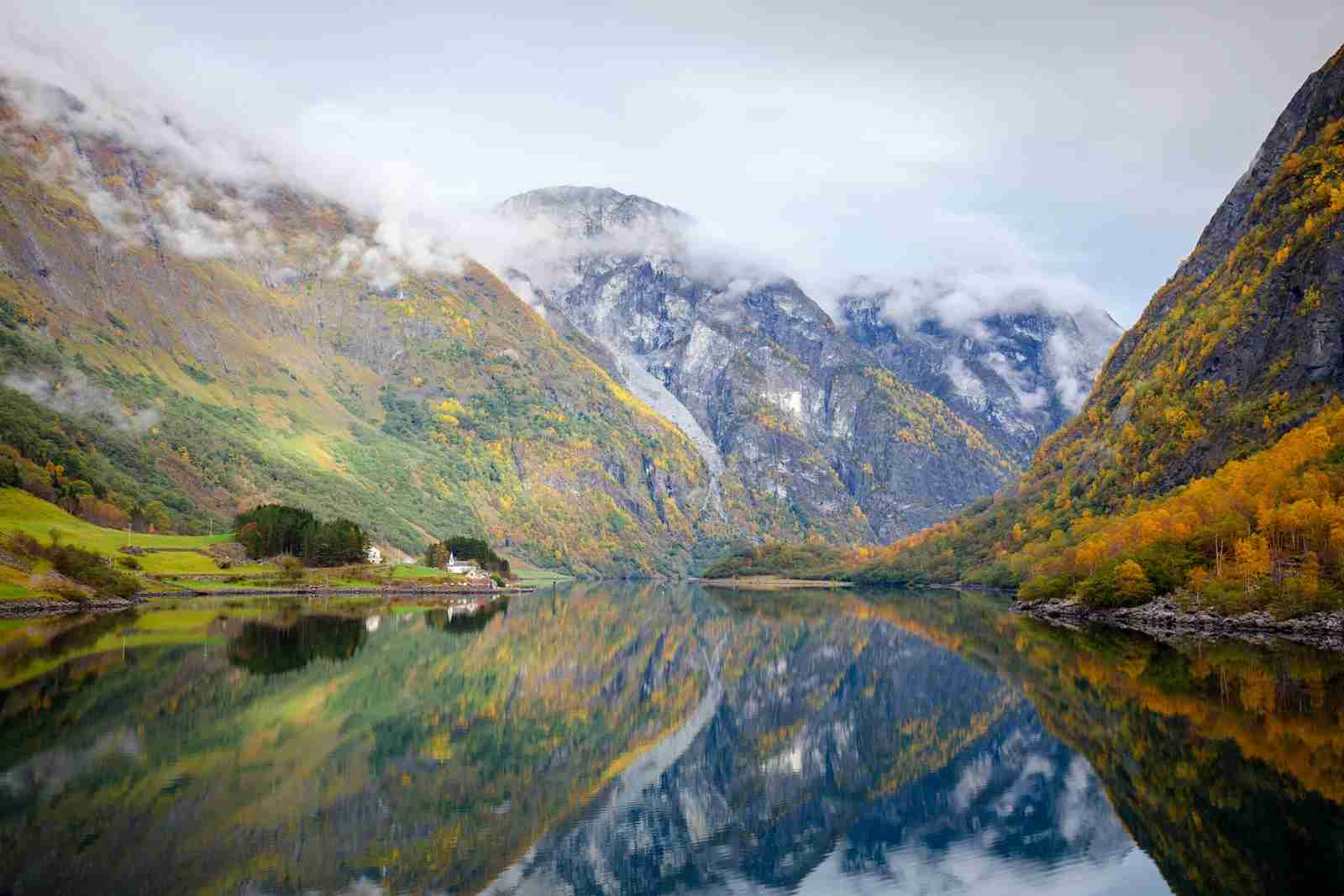 Sognefjord in Norway. (Photo by Hou/Getty Images)