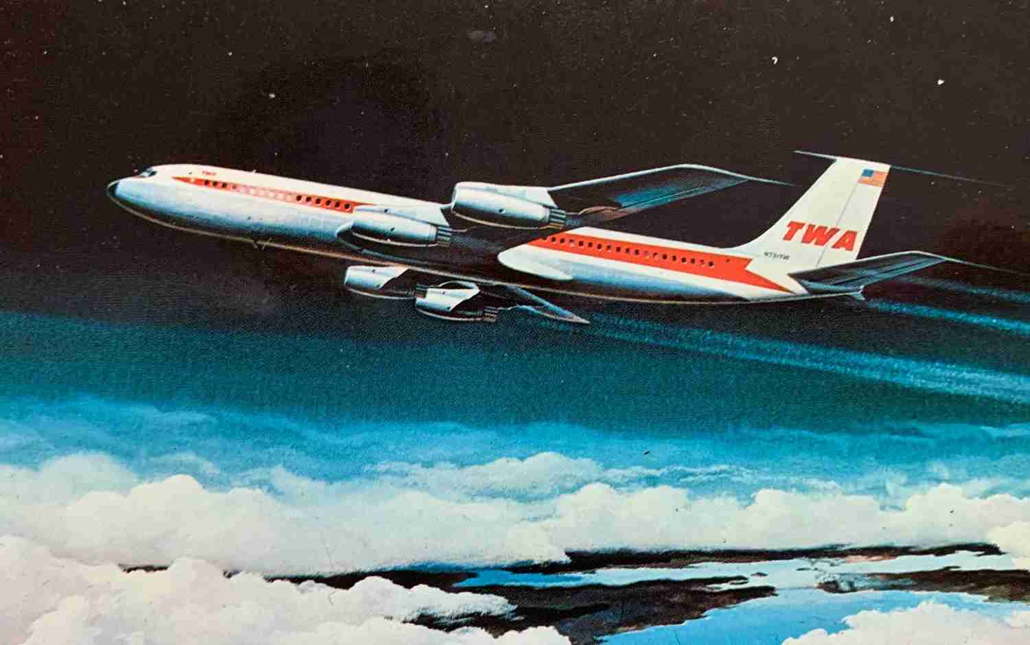 By the end of the 1970s TWA operated more than 80 Boeing 707s.