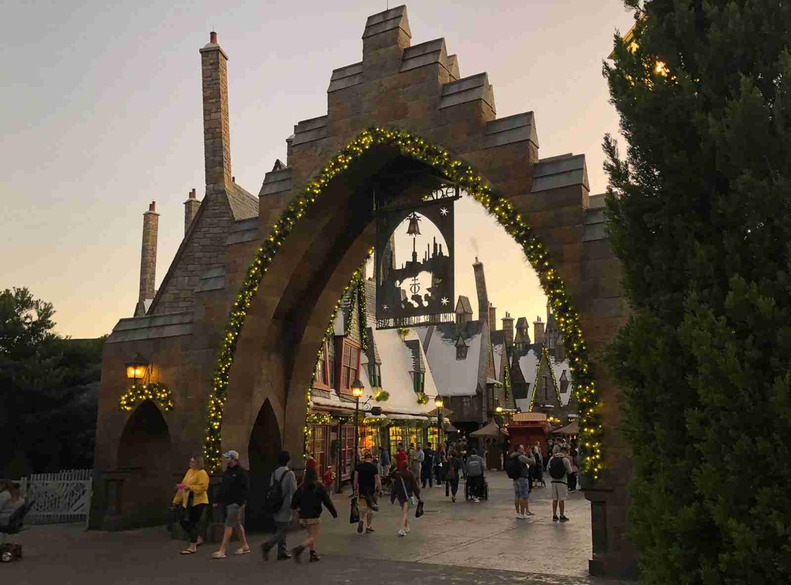 Hogsmeade (Photo by Leonard Hospidor.)