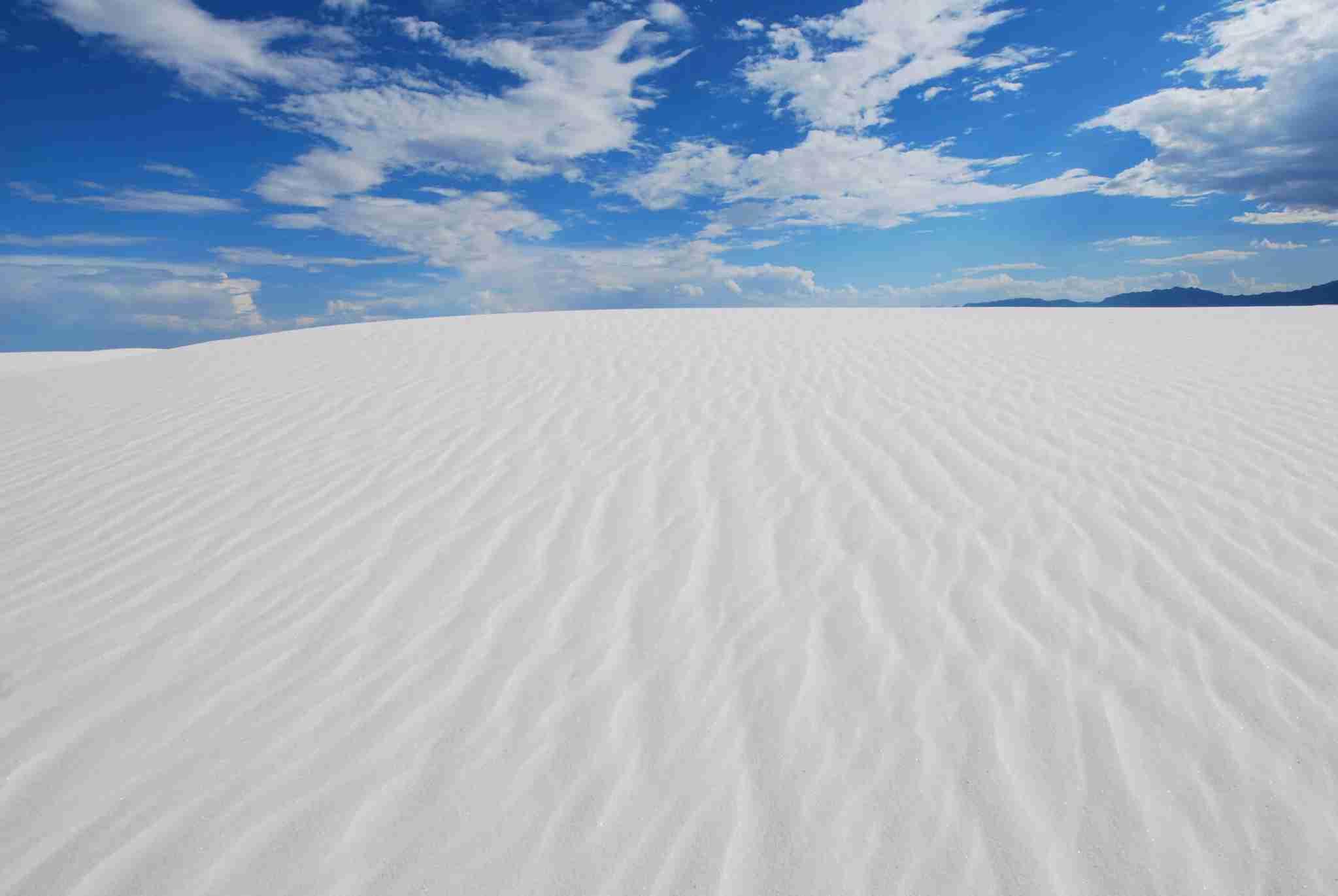 As areias brancas do Novo México se tornam o mais novo parque nacional dos EUA