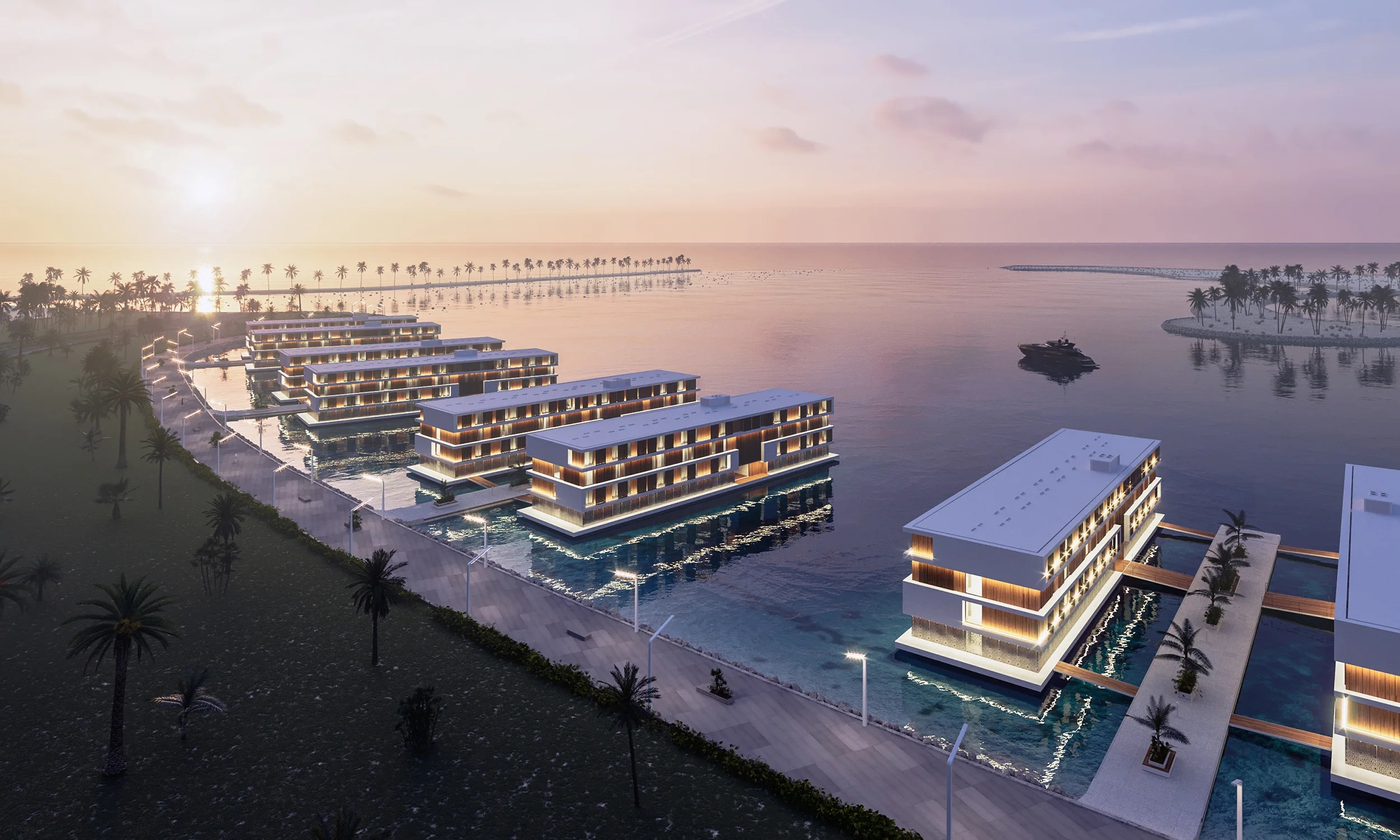 Stay in a floating hotel near Doha for the 2022 FIFA World Cup