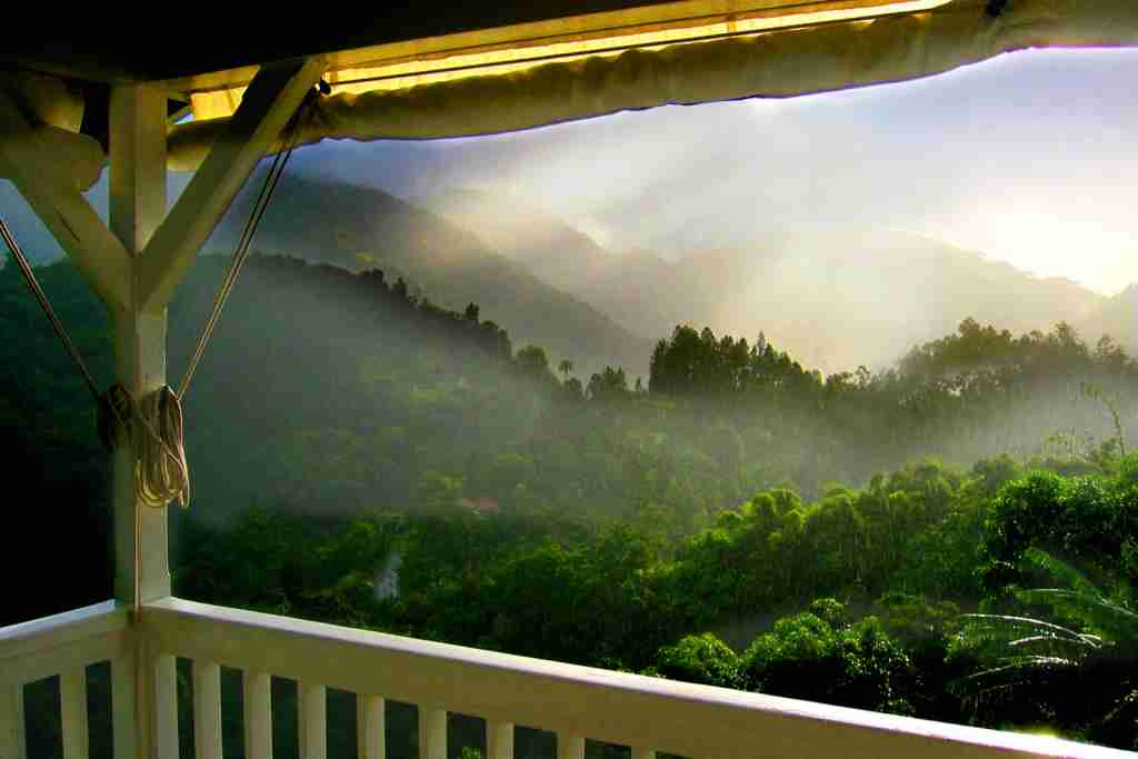 The Blue Mountains of Jamaica. (Photo by © Rick Elkins/Getty Images)