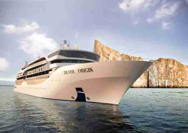 Silver Origin will sail year-round in The Galapagos. Image courtesy of Silversea.