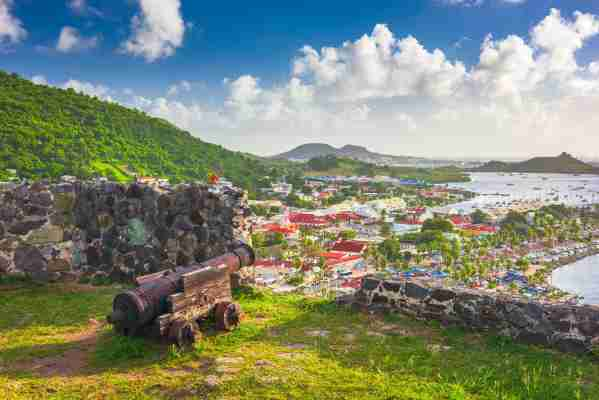Fort Louis in Marigot on the French side of St. Martin. (Photo by Sean Pavone/Getty Images)
