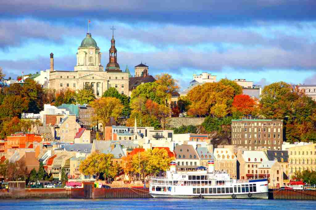 Quebec City, Canada.(Photo by DenisTangneyJr/Getty Images)