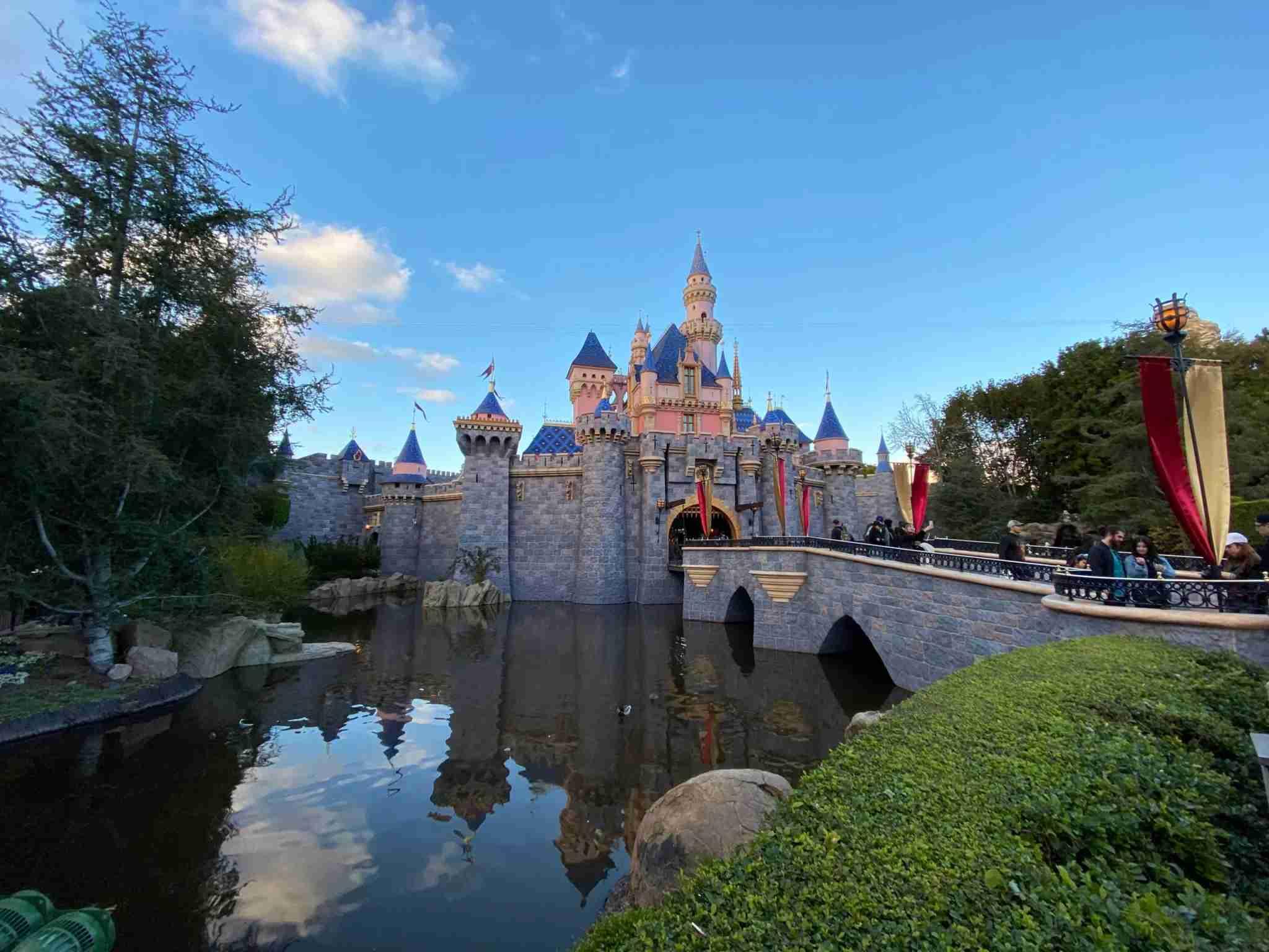 Disneyland Sleeping Beauty Castle 2020 Colors